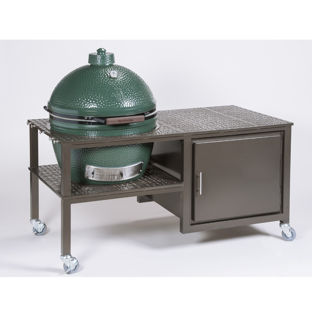 Windham 30 Inch X 60 Inch Large Grill Cart W/ Cabinet For Smokers   306011E  ...