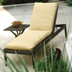 Windham Metro Classic Cast Aluminum Chaise Lounge Set with Cushion - WN-METRO-SET7