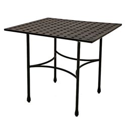 "Windham Metro Classic 40"" Square Bar Table w/ Straight Base - MC740246"