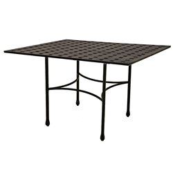 "Windham Metro Classic 40"" x 60"" Rectangle Balcony Table w/ Straight Base - MC740445"