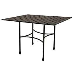 "Windham Metro Classic 40"" x 60"" Rectangle Bar Table w/ Straight Base - MC740446"