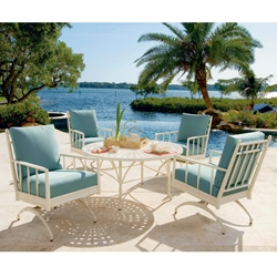Windham Nikko Cast Aluminum Spring Club Chair Patio Set - WN-NIKKO-SET2