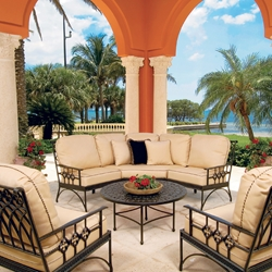 Windham Provence Cast Aluminum Furniture Collection