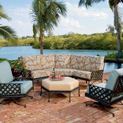 Windham Savannah Deep Seating Cast Aluminum Collection