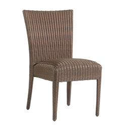 Woodard All Weather Padded Dining Side Chair - S593811