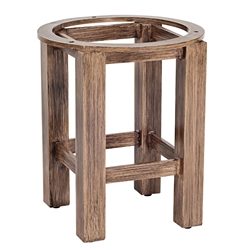 Woodard Trestle End Table Base - 2Q2200