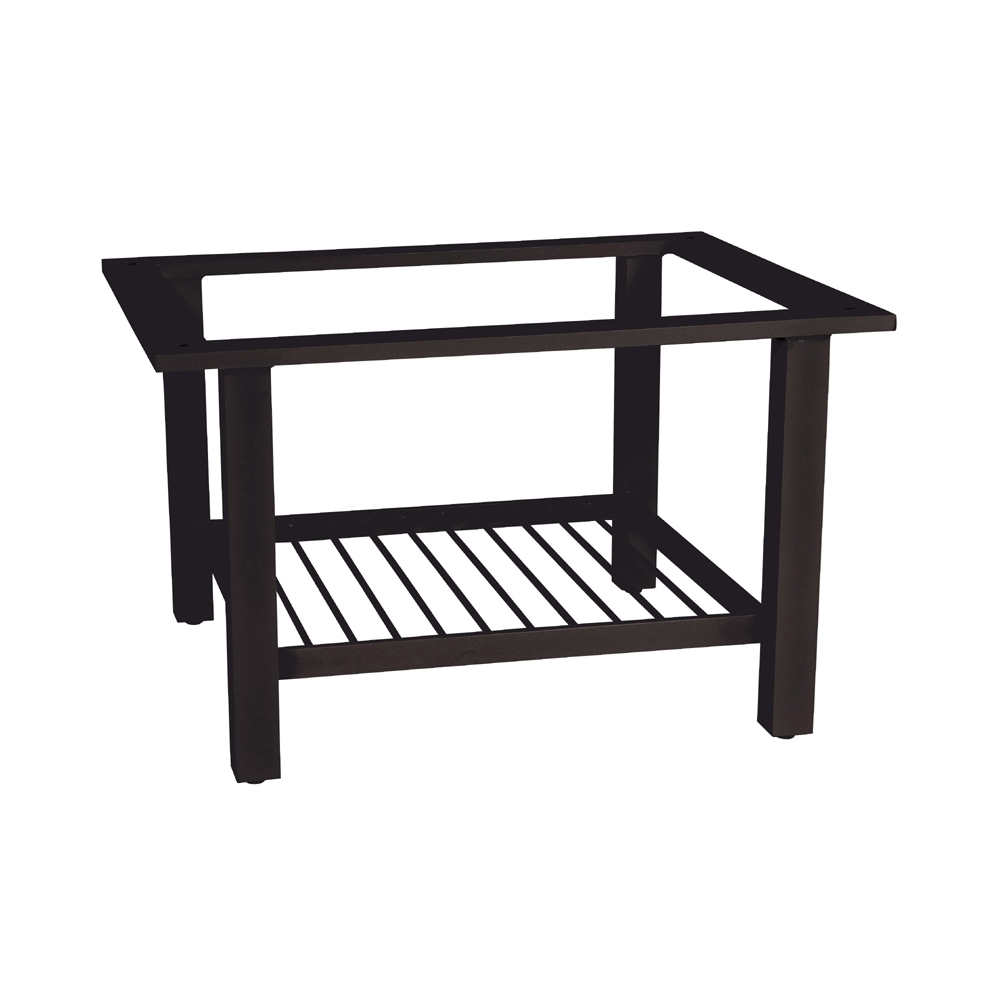 Woodard Elite Rectangular Coffee Table Base   4V4500