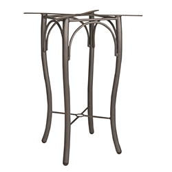 Woodard Tribeca Bar Height Table Base - 5D6600