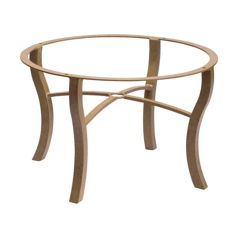 Woodard Carson Coffee Table Base - 5P5400