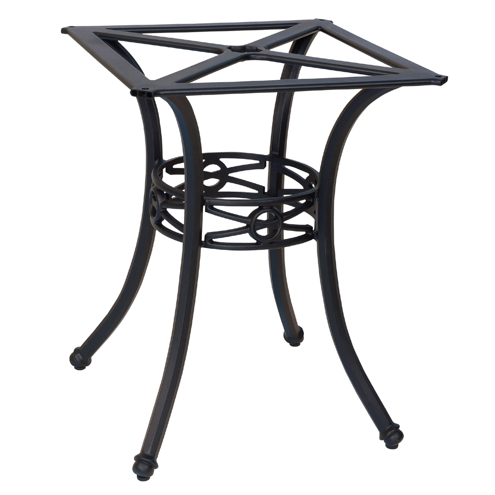 Woodard Delphi Dining Table Base with square rim - 854900