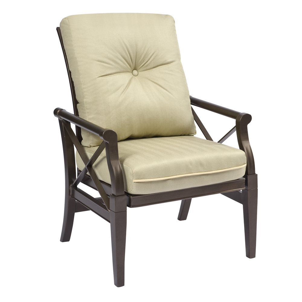Woodard Andover Cushion Rocking Arm Chair - 510405