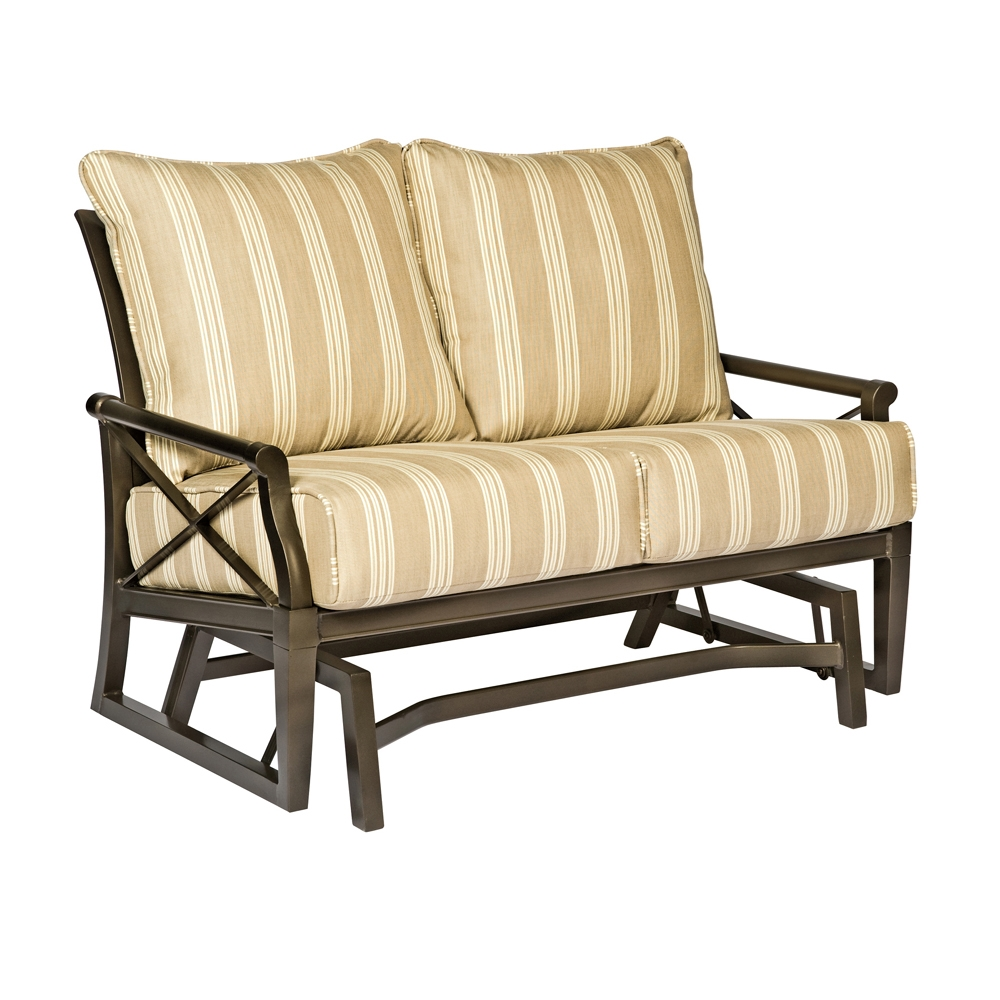 Woodard Andover Cushion Gliding Loveseat - 510473