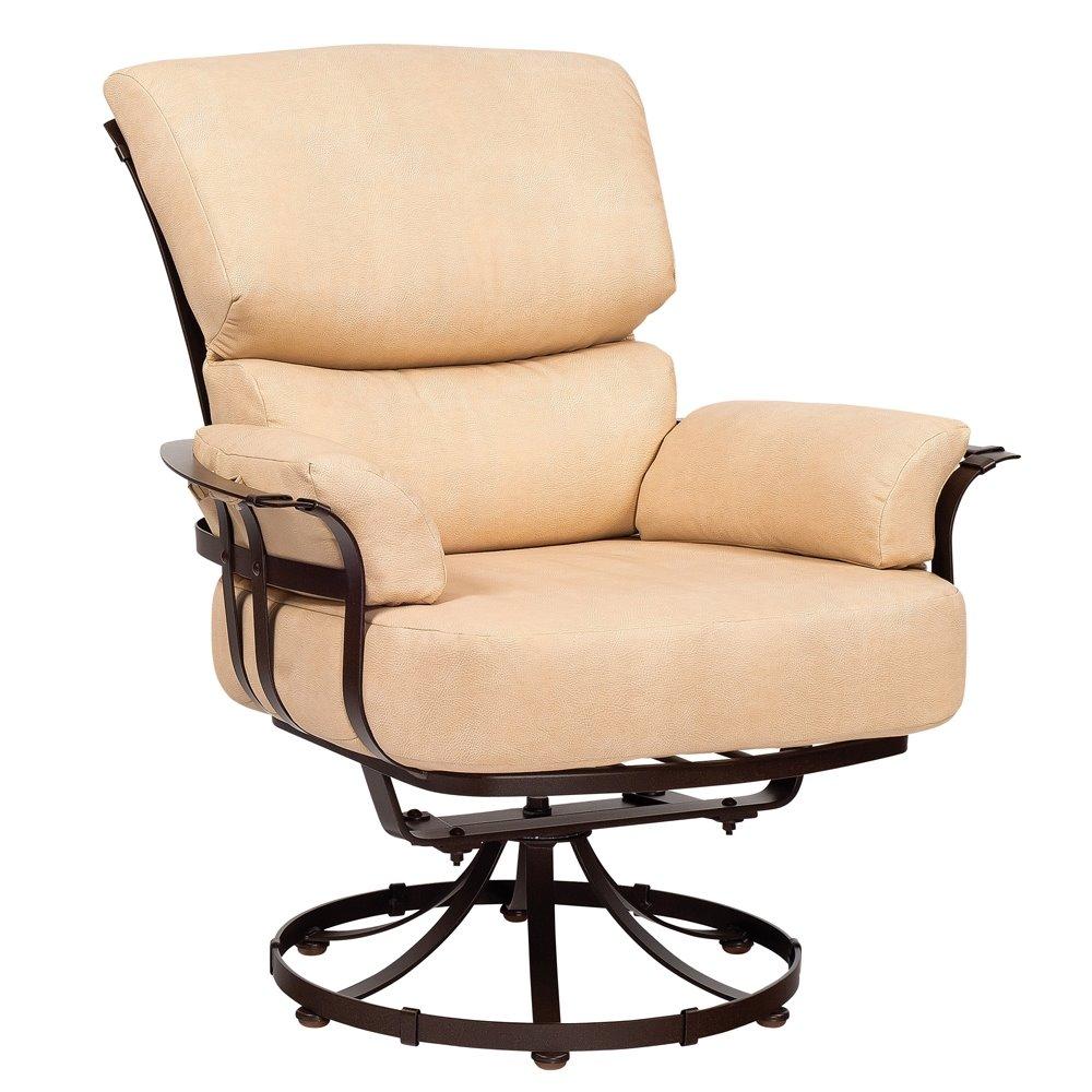 Woodard Atlas Swivel Lounge Chair 2l0077