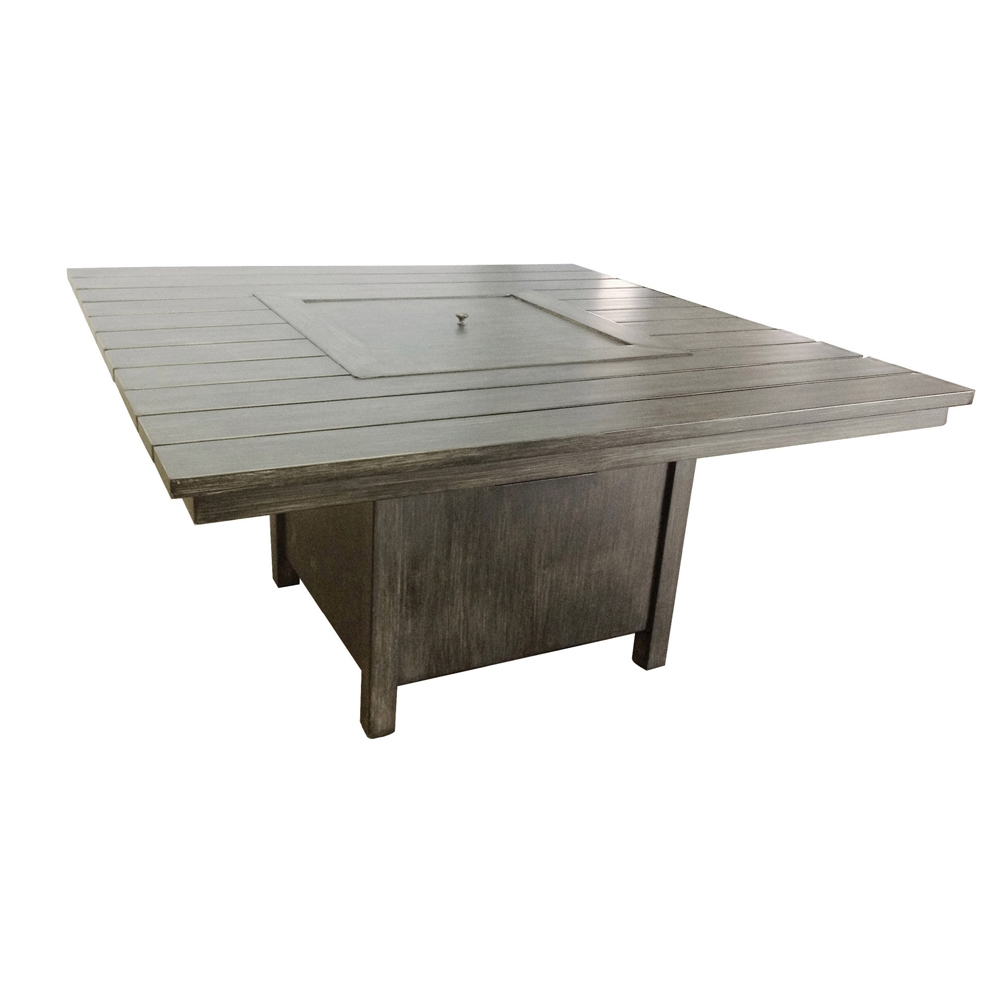 Woodard Augusta Woodlands Fire Pit Table - S592711