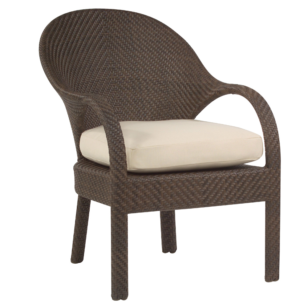 Woodard Bali Dining Occasional Chair   S533501