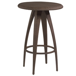 Woodard Bali Bar Table with Woven Top - S533734