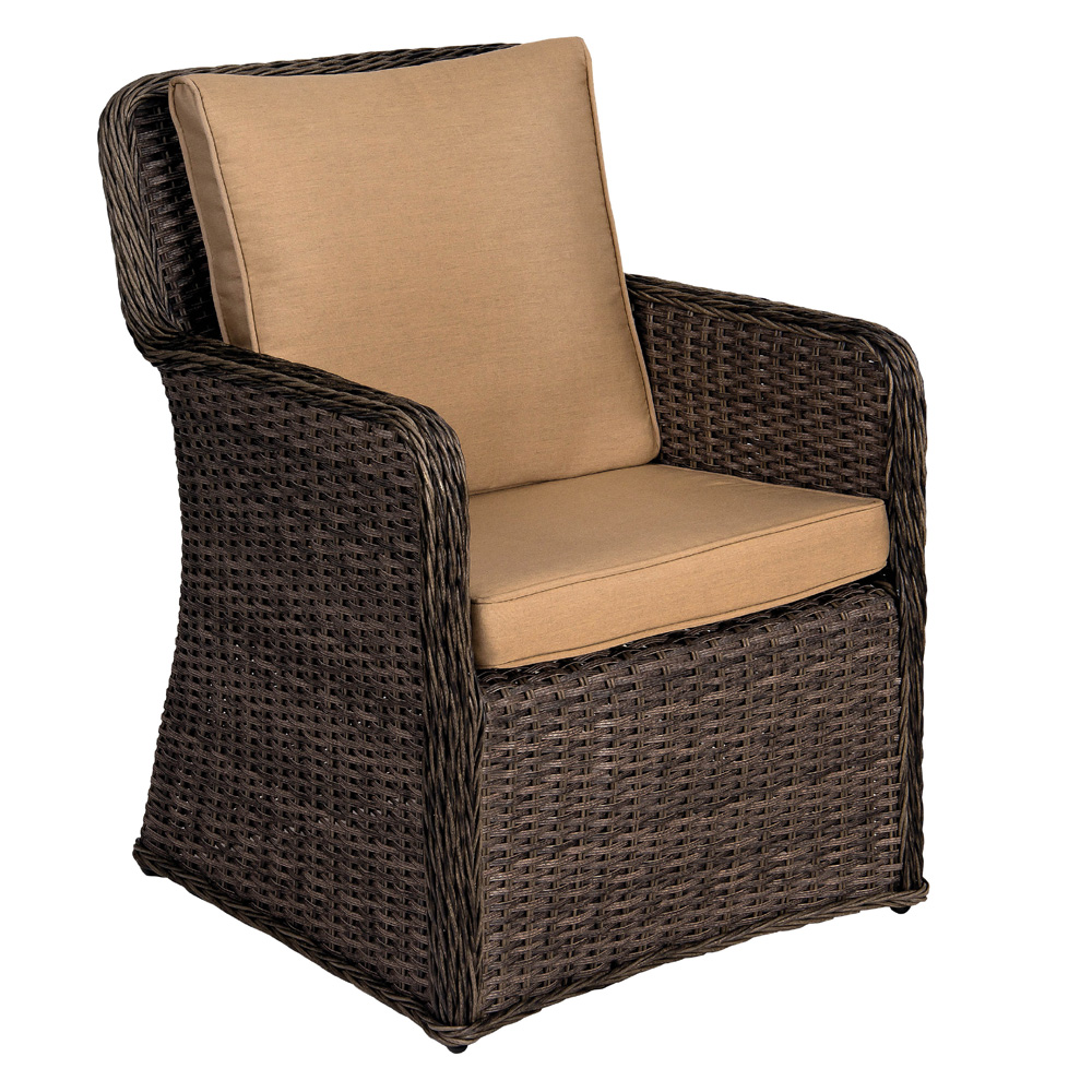 Woodard Bay Shore Dining Arm Chair - S509501