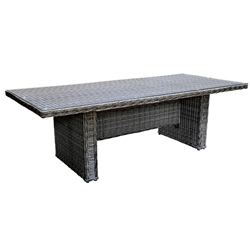 Woodard Bay Shore Rectangular Umbrella Table - S509702