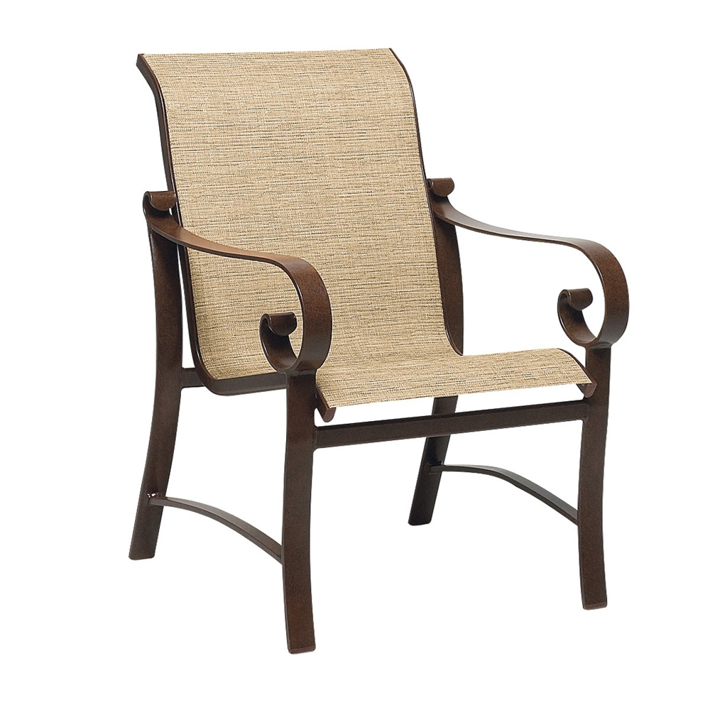 Woodard Belden Sling Dining Arm Chair - 62H401
