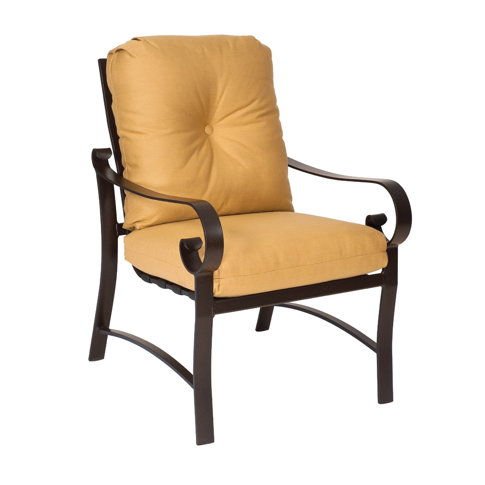 Woodard Belden Cushion Dining Arm Chair - 690401