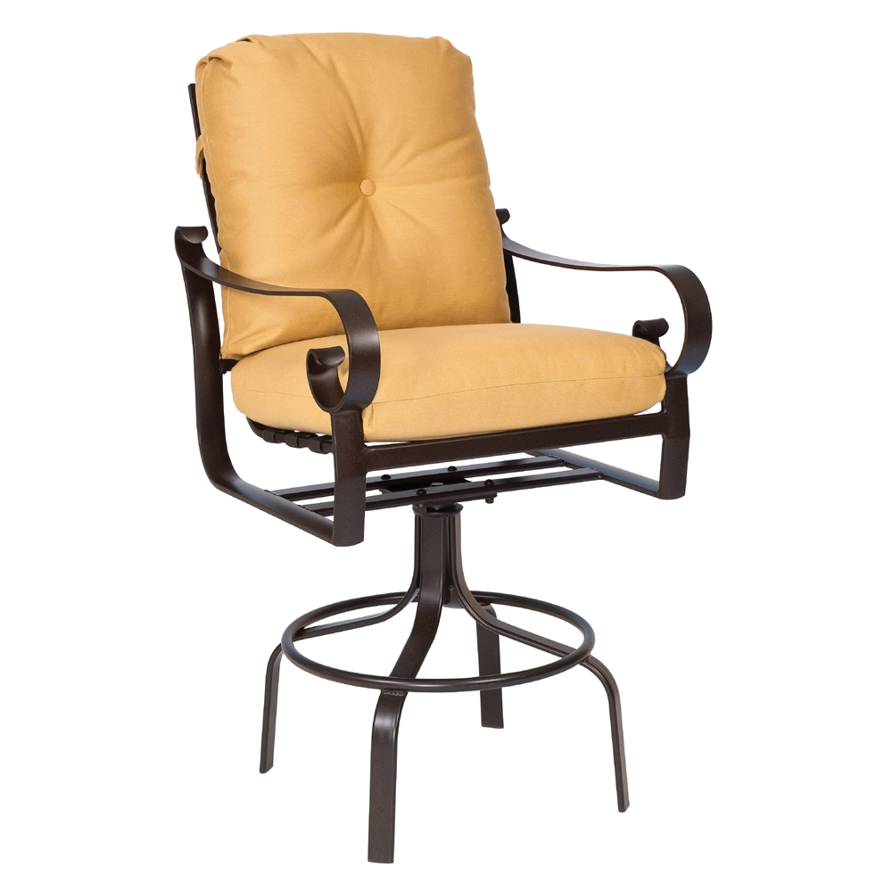 Woodard Belden Cushion Swivel Bar Stool 690468m