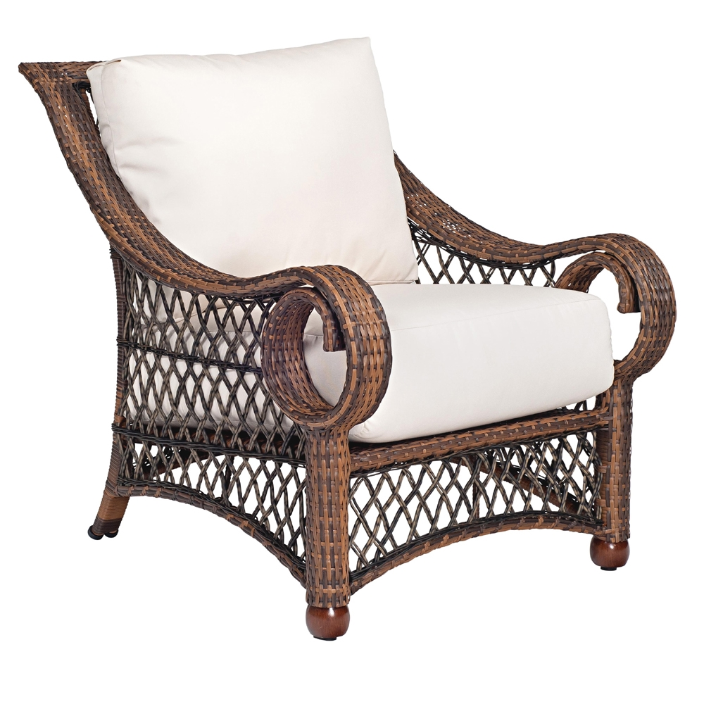 Woodard Belmar Stationary Lounge Chair - 6Z0006