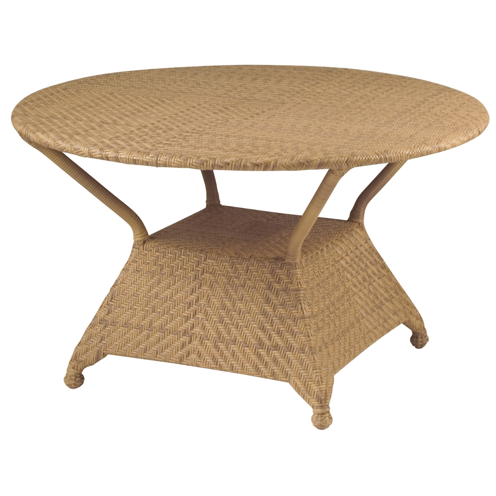 Woodard Boca 48 Inch Round Dining Table   S594804