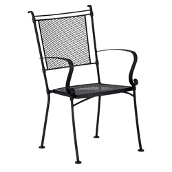 Woodard Bradford Stackable Dining Arm Chair - 7X0001