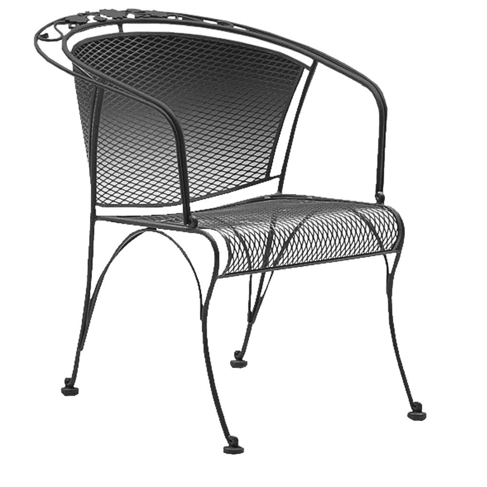 Woodard Briarwood Barrel Dining Chair   400010