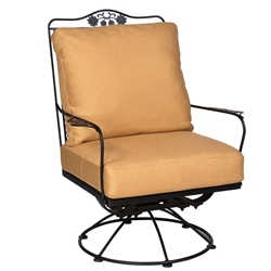 Woodard Briarwood Swivel Rocking Lounge Chair - 400077