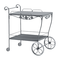 Woodard Briarwood Tea Cart - 400080