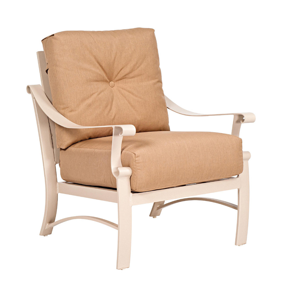 Woodard Bungalow Cushion Lounge Chair - 8Q0406