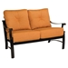 Bungalow Aluminum Love Seat and Lounge Chair Set - WD-BUNGALOW-SET4