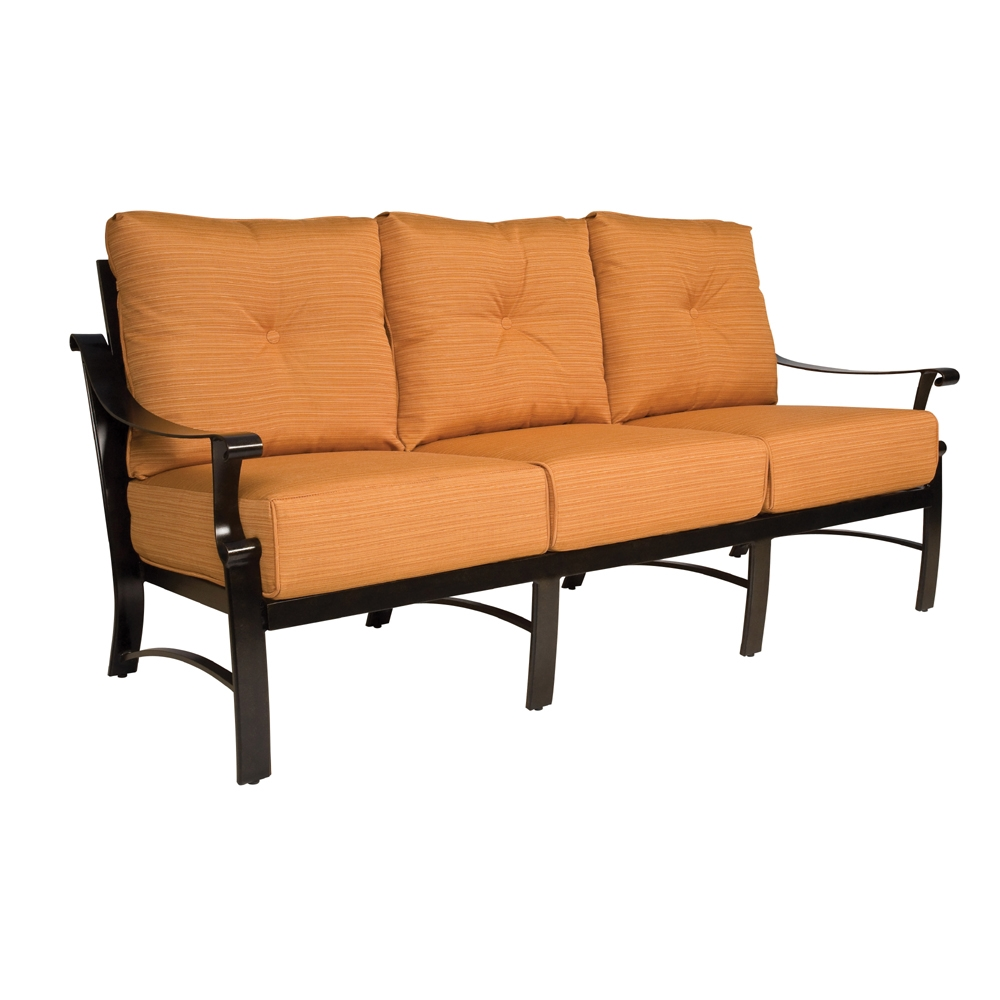Woodard Bungalow Cushion Sofa - 8Q0420
