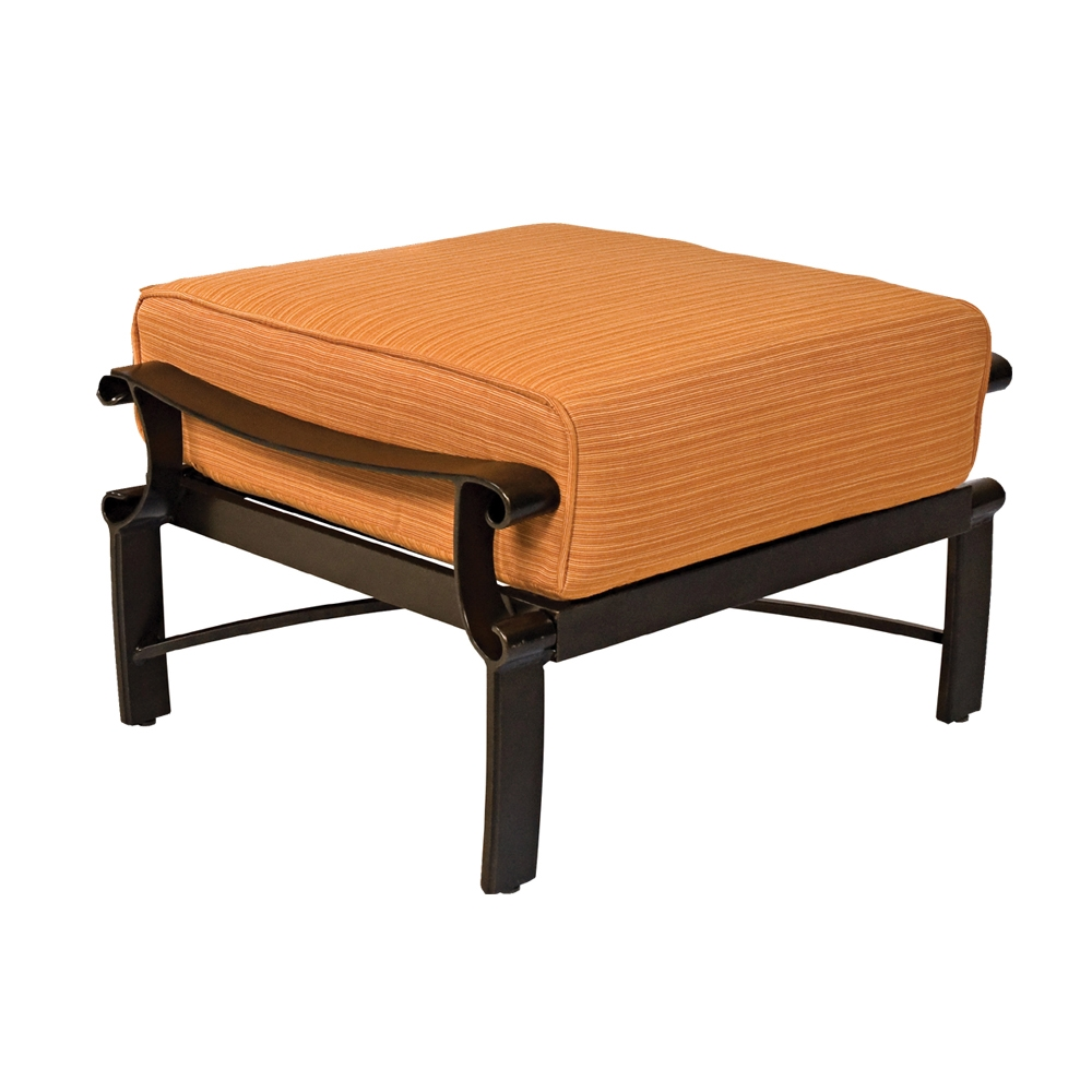 Woodard Bungalow Cushion Ottoman - 8Q0486