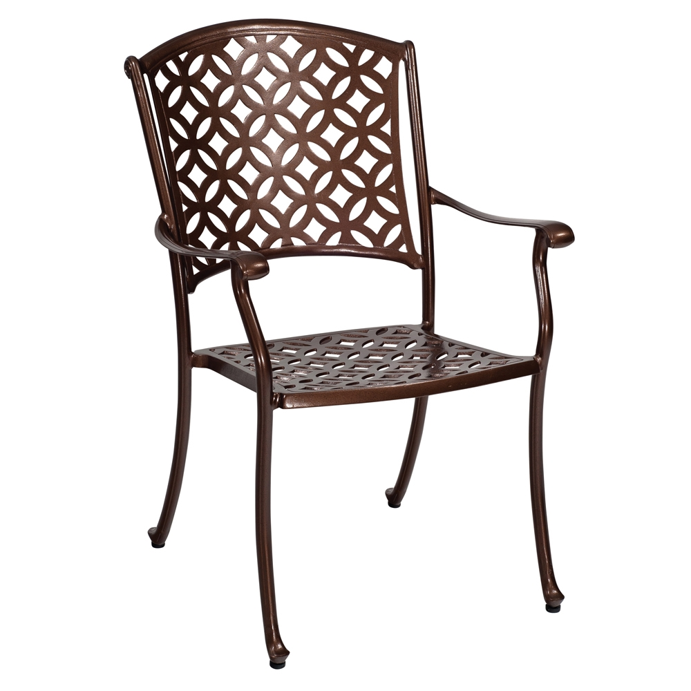 Woodard Casa Dining Arm Chair - 3Y0401