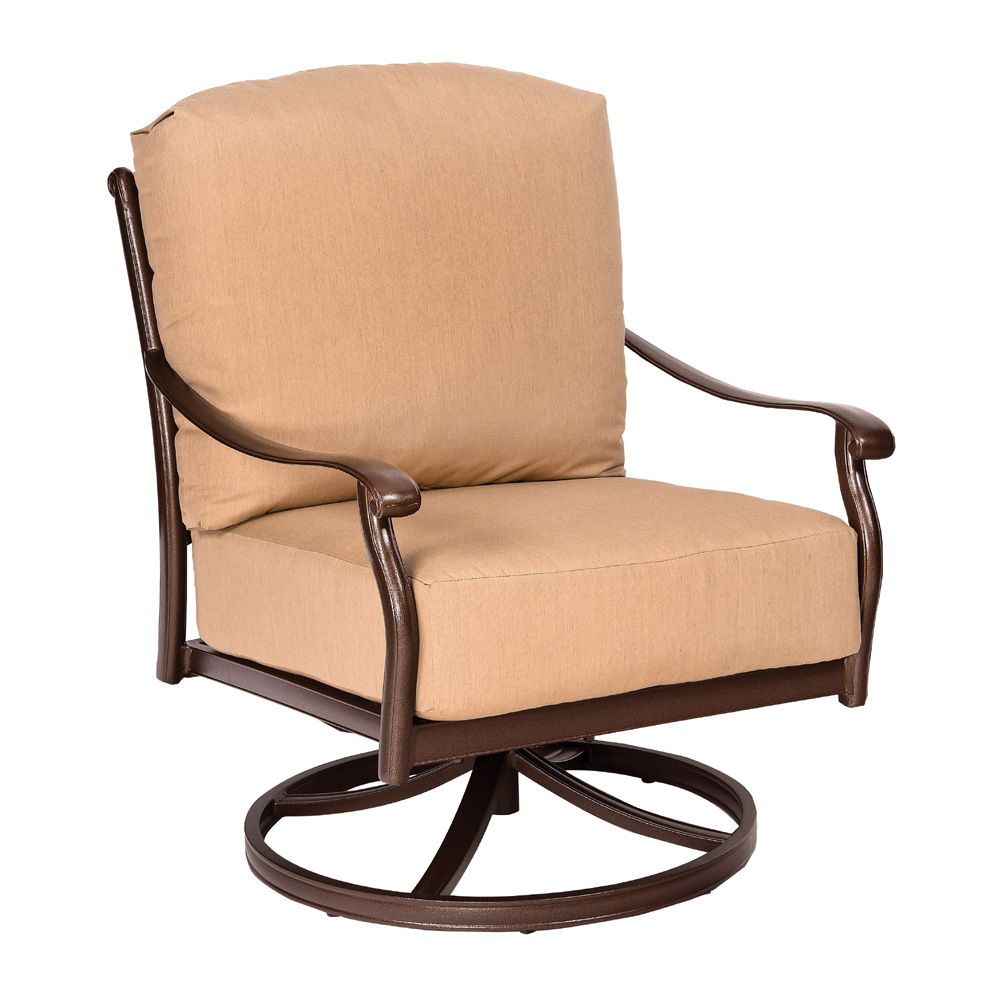Woodard Casa Swivel Rocking Lounge Chair - 3Y0477