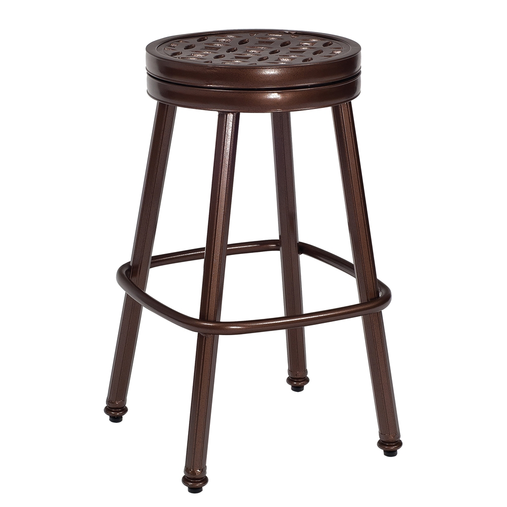 Woodard Casa Round Swivel Bar Stool - 3Y0668