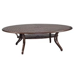 Woodard Casa Oval Dining Table - 3Y0777