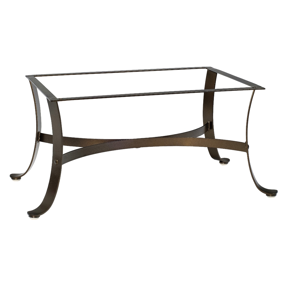 Cascade Wrought Iron Coffee Table Base