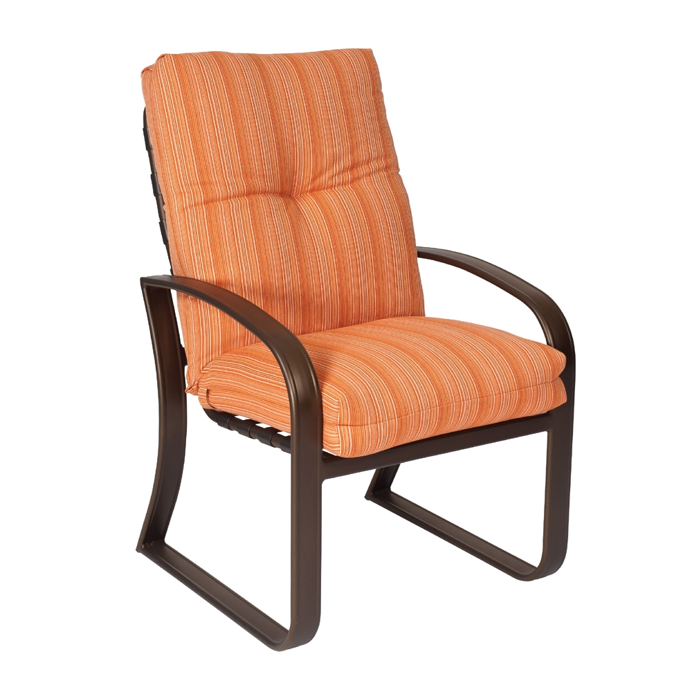 Woodard Cayman Isle Cushion Dining Arm Chair 2e0425