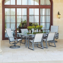 Woodard Cayman Isle Sling 7 Piece Dining Set - WD-CAYMANISLE-SET3