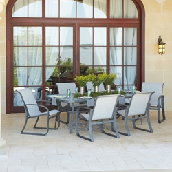 Woodard Cayman Isle Sling Patio Dining Set - WD-CAYMANISLE-SET4