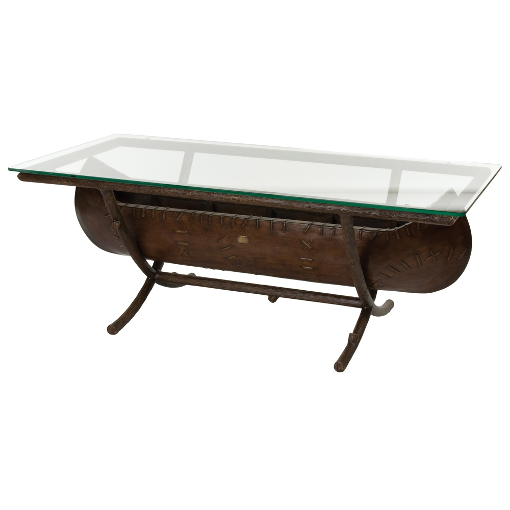 Woodard Chatham Run Canoe Coffee Table - S525213