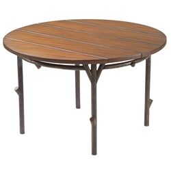 Woodard Chatham Run 48 inch round Dining Table - S525702