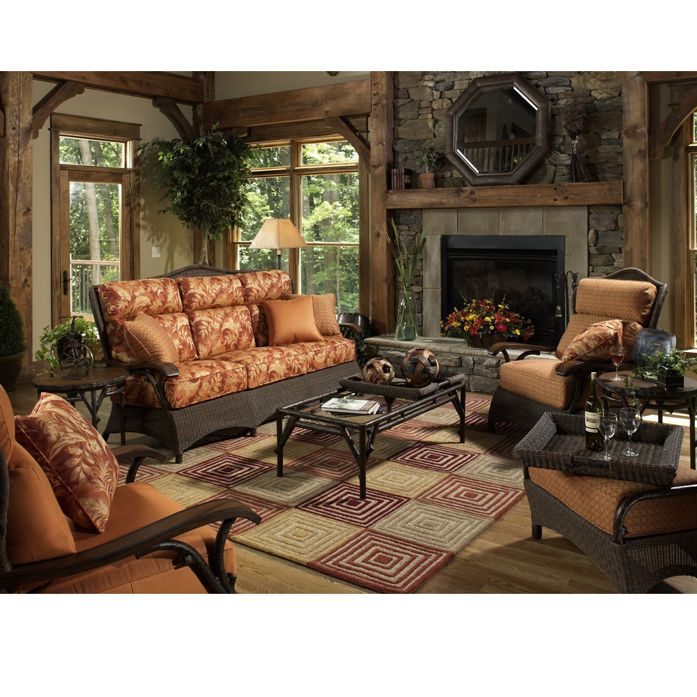 Woodard Chatham Run 7 Piece Patio Set - WC-CHATHAMRUN-SET3