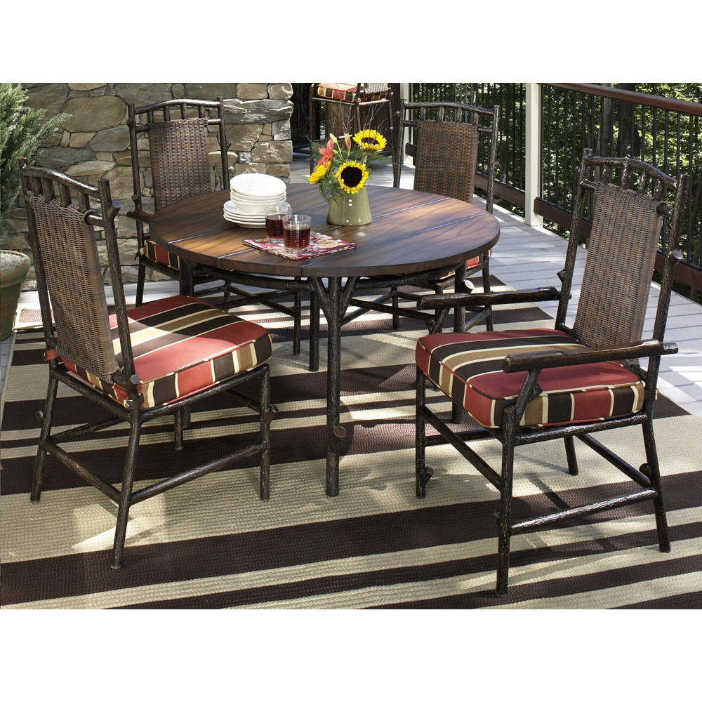 Woodard Chatham Run 5 Piece Dining Set - WC-CHATHAMRUN-SET5