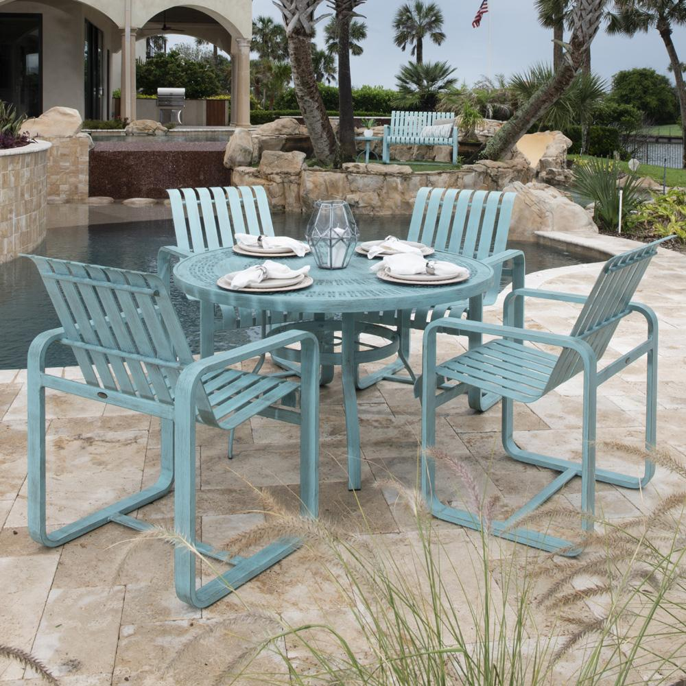 Woodard Colfax Patio Dining Set - WD-COLFAX-SET1