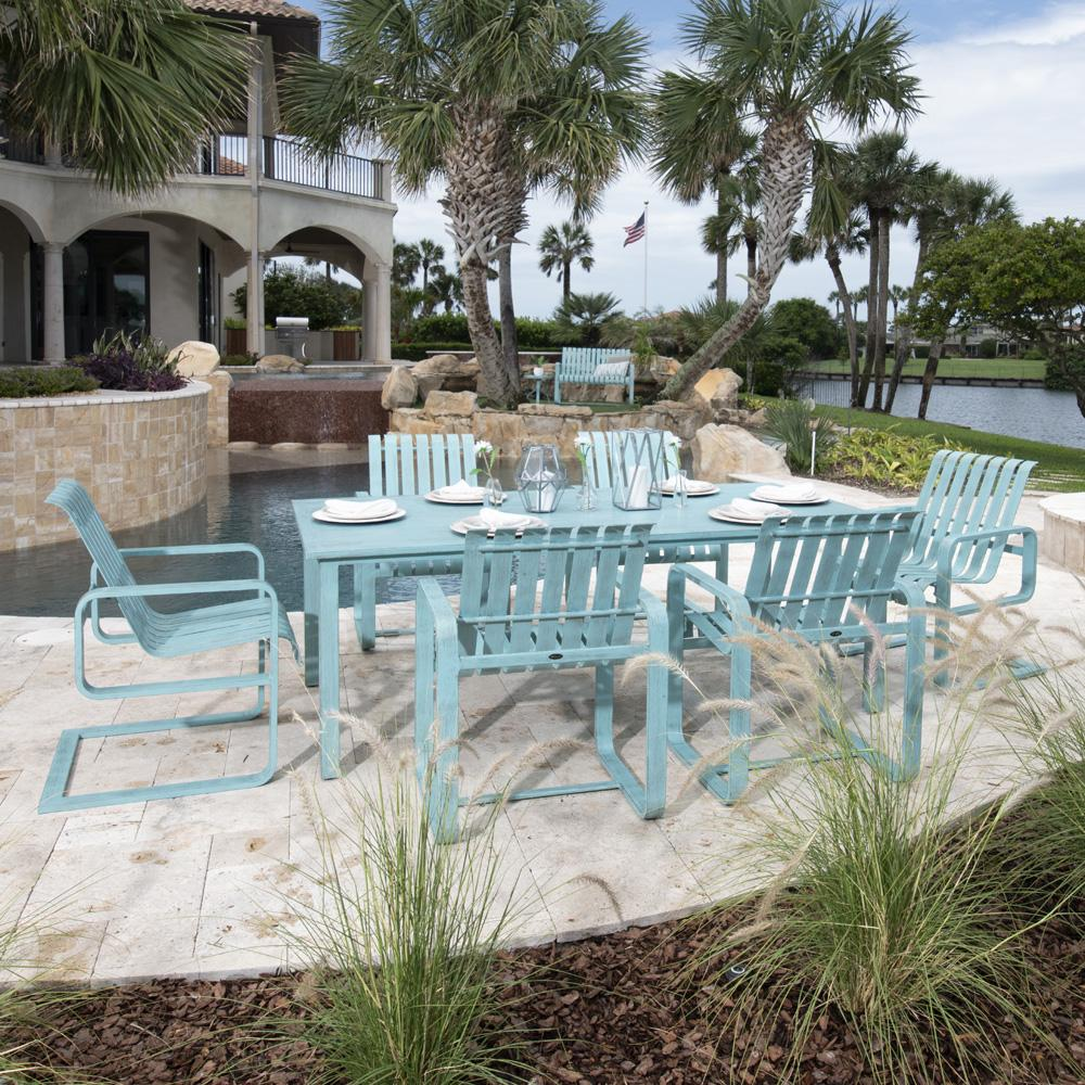 Woodard Colfax Patio Dining Set for 6 - WD-COLFAX-SET2