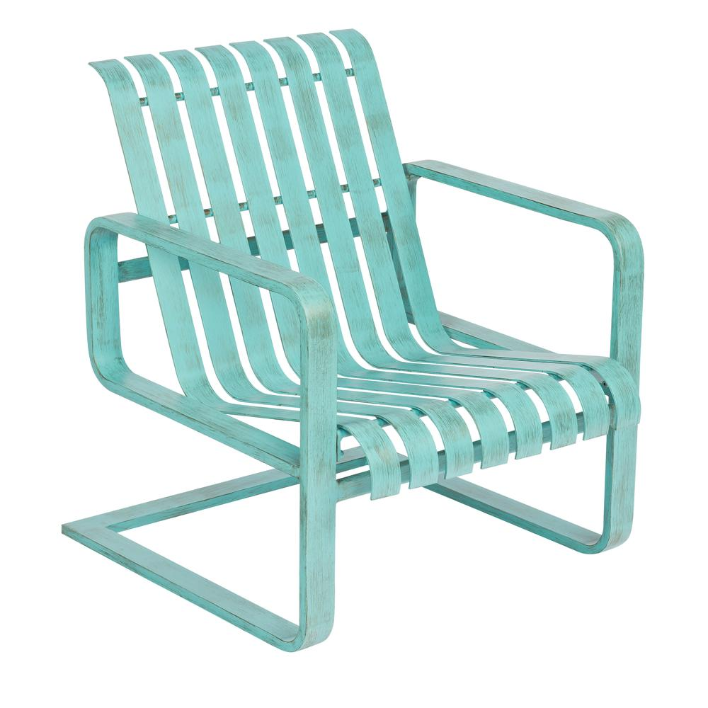 Woodard Colfax Spring Lounge Chair - 7K0465